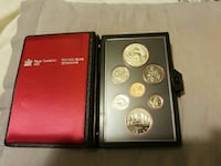 round silver and gold coin collection Calgary, T2A 3K8