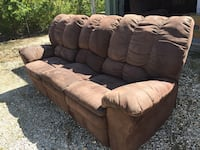 Reclining Couch, Loveseat & Chair 385 mi