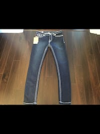 Ladies Brand New with tags Authentic True Religion Jeans size 31 535 km