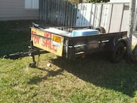 black and gray metal trailer Melbourne Beach, 32951