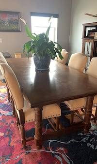 6 piece dining room table with China cabinet Denver, 80203