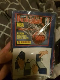 Unopened 1991 92 basketball sticker Surrey, V3S 2G9