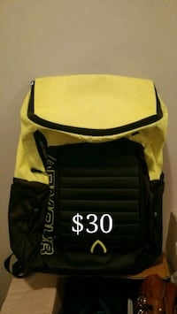 black and yellow leather crossbody bag Victoria, V8P 4H2
