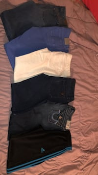 Different brands of woman's jeans  Winnipeg, R2P 1Y4