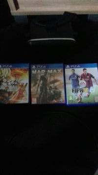 three PS4 game cases Wolverhampton, WV4 5AQ