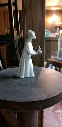 lladro girl with candle  Bethesda