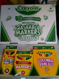 Crayola Colored Pencils & Washable Marker Set Santa Ana, 92707