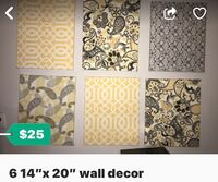 6 wall decor