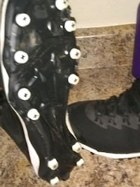 Size 13 Air Jordan cleats to let go.