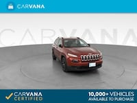 2016 Jeep Cherokee suv Sport Altitude Sport Utility 4D RED Brentwood