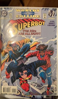 Super boy comic book