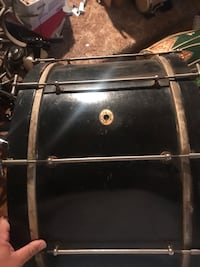 Vintage 1920's Ludwig and Ludwig calfskin bass drum Schenectady, 12303