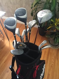 Taylor made Golf bag and clubs  Calgary, T2H 0W9