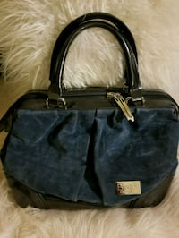 black and blue leather tote bag Owings Mills, 21117