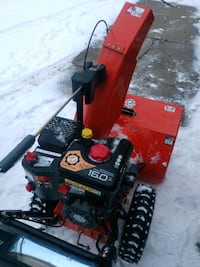 black and red snow blower Buffalo, 14219
