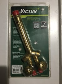 Victor heavy duty welding torch handle clamshell