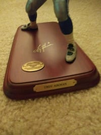 Troy Aikman Dallas Cowboy Figurine Woodbridge, 22193