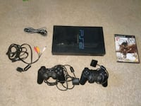 Sony PS2 console with 2 controllers & 6 games Salem, 03079