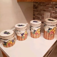Ceramic canisters Rockville