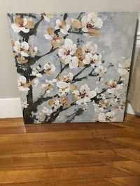 Wall Painting Frame - cherry blossom Winthrop, 02152
