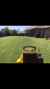 Lawnmowing hedge trimming flower beds Oklahoma City