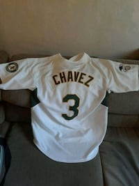 OAKLAND A's eric chavez jersey