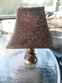 brown and black table lamp Maryville