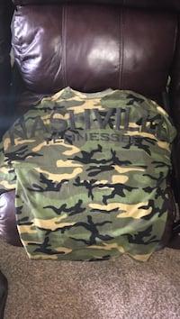 white, green, and black camouflage print hoodie Nashville, 37076