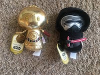 2-Star wars limited edition itty bittys Ashburn, 20148