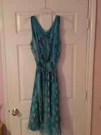 blue sleeveless scoop-neck dress Fort Worth, 76118