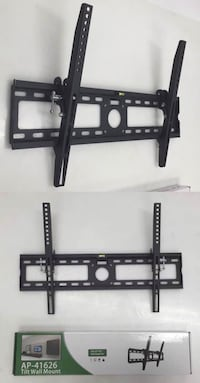 New in box 32 to 65 inches tilt tilting tv television wall mount bracket flat screen plasma 88 lbs capacity  Los Angeles, 90033