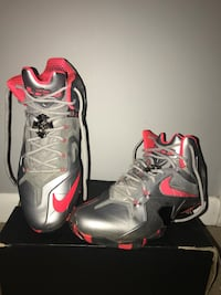 Nike Lebrons 11 Elite Wolf Grey, Size 12 Mens Shoes Reston
