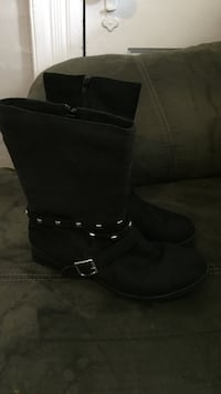 pair of black leather boots Morenci, 49256