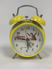 Curious George Collectible Vintage Wind-Up Clock South San Francisco, 94080