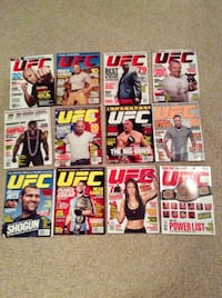 UFC magazine collection (issues 1-24) Brock Lesnar Durand, 48429