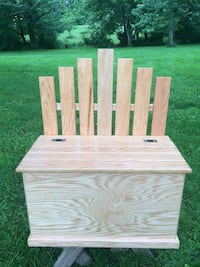 Oak bench and storage chest 72 km