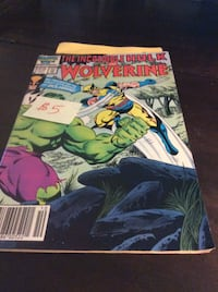comic The Incredible Hulk and Wolverine  Rockville
