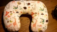 Nursing pillow with cute Forrest animals