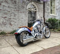 2010 Custom Honda FURY Chopper Cruiser Motorcycle ARLINGTON
