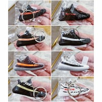 PRICE IS FIRM, PICKUP ONLY - Yeezy Sneaker Keychains - Brand New  Toronto, M4B 2T2