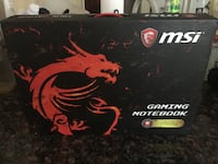 MSI Gaming Laptop 17.3 inches  null