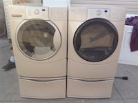 Excellent kenmore front loader washer and dryer. Columbus, 43227