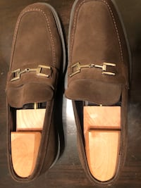 Size 13.5 Gucci Men's Brown Loafers