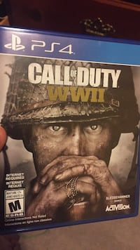 Call of duty ghosts ps4 game brand new