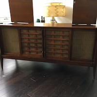 Beautiful Vintage 1960's Marconi Stereophonic High fidelity Media Console Mid Century Modern MCM Ottawa