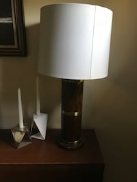 Two large table lamps with brand new shades. 30 for both Nashville, 37214