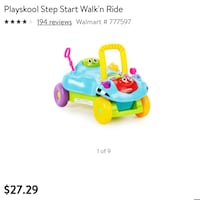 Playskool Step Stand Walk & Ride Charlotte, 28269