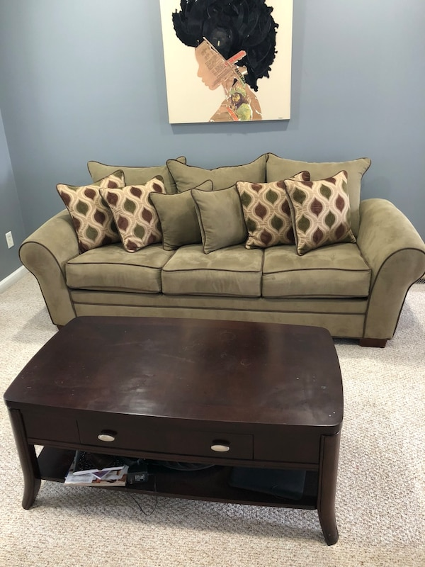 Used Sofa Chair And Table For In Kennesaw