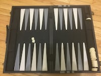 black and gray backgammon board Toronto, M5P 2R8