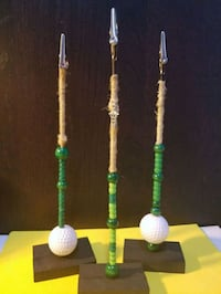 three green, white, and blue beaded necklaces Manteca, 95337